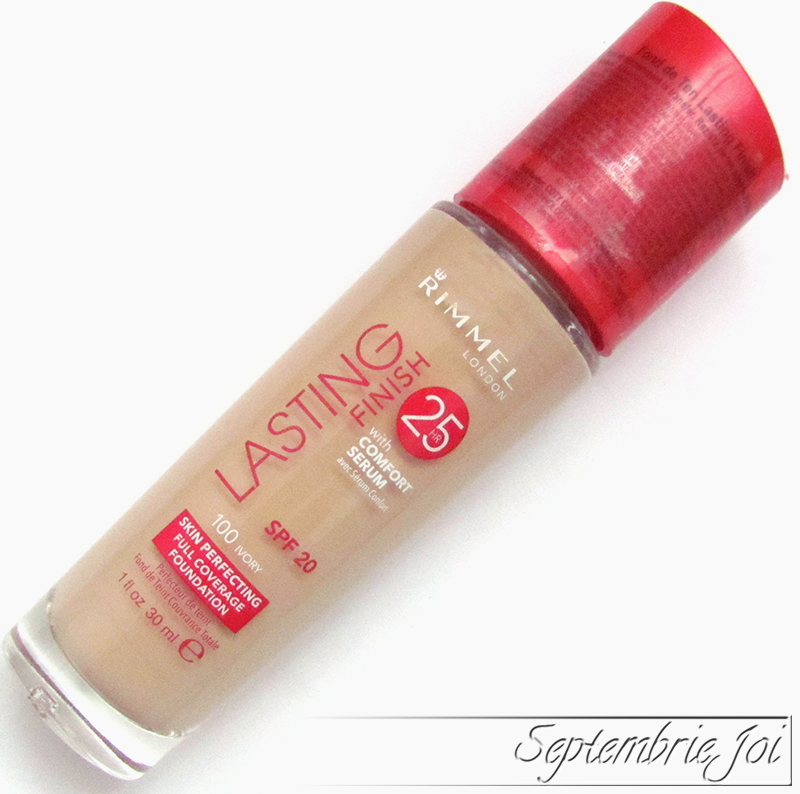 rimmel lasting finish fond de ten