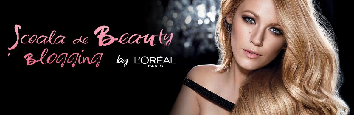 l'oreal beauty blogging school