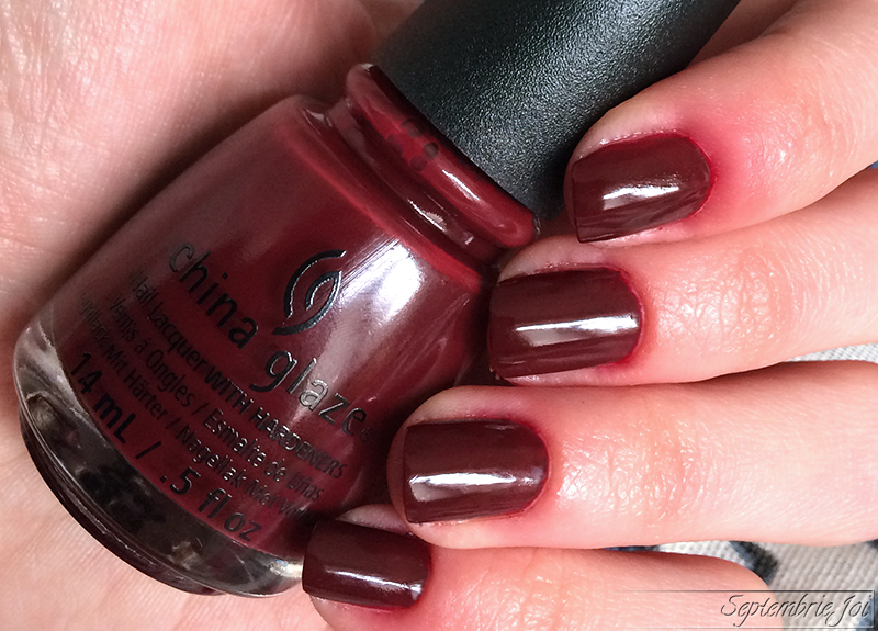china glaze wine down for what swatch