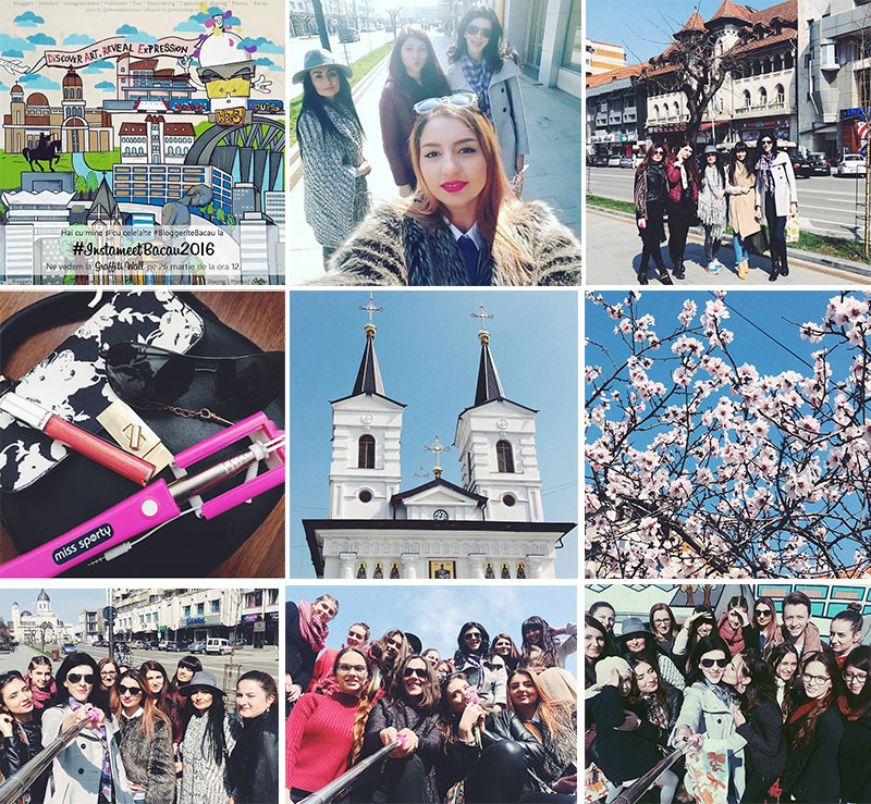 Asa a fost la Instameet Bacau 2016 - primul din acest oras. Oameni veseli, locuri frumoase, zambete si voie buna!