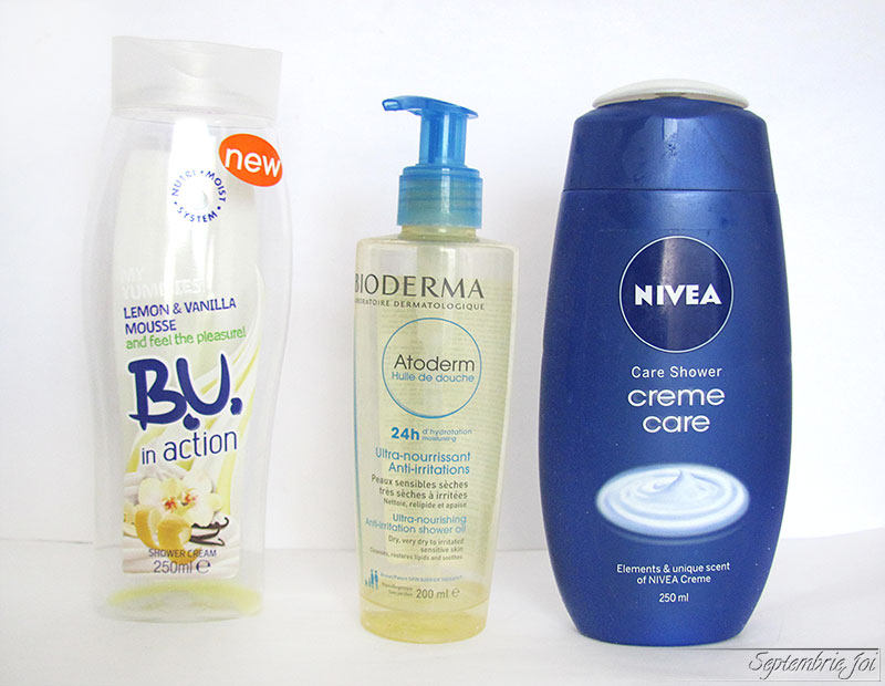 gel-de-dus-nivea-B.U.-Shower-smoothie-bioderma-atoderm