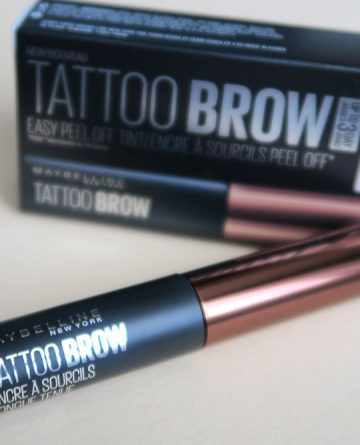 Maybelline brow tattoo