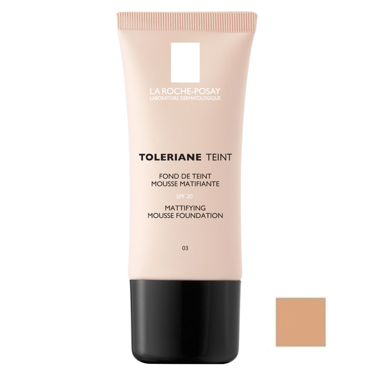 review la roche posay toleriane teint mattifying mousse foundation septembriejoi. Black Bedroom Furniture Sets. Home Design Ideas