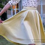 [Din dressing] Yellow tones in autumn light