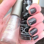 [Swatch] Rimmel Deliciously Dark & Flormar sparkles