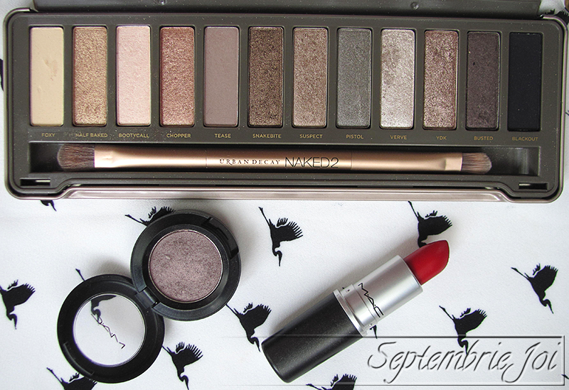 urban decay naked MAC satin taupe ruby woo