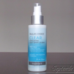 [Primele impresii] Paula's Choice Clear Exfoliating Body Spray 2% BHA