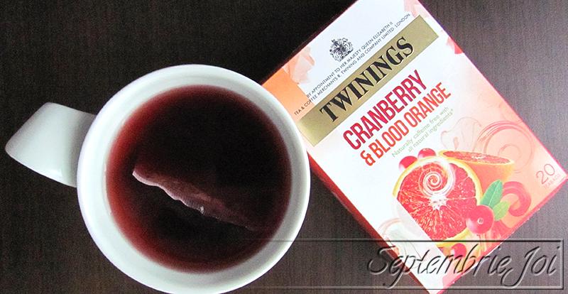 ceai twinings portocale rosii si merisoare