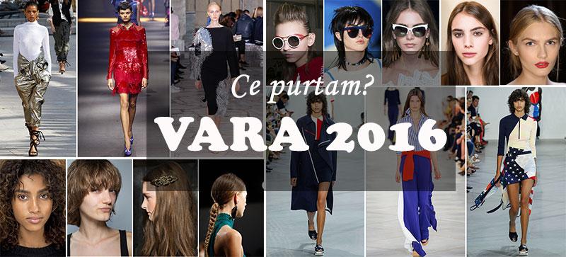 Inspiratie pentru alegeri in tendinte in vara 2016 - garderoba, ochelari de soare, machiaj si coafura, coborate de pe podium!