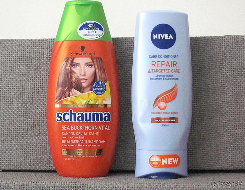 schauma-sampon-cu-catina-balsam-nivea-repair-&-targeted