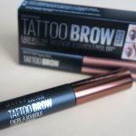 [Primele impresii] Maybelline Brow Tattoo – vopsea temporara pentru sprancene