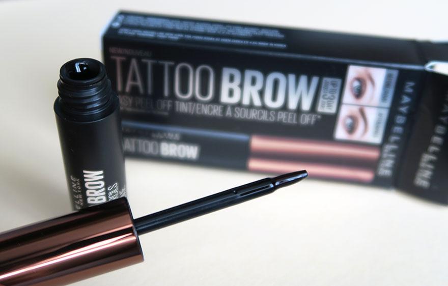 Maybelline brow tattoo aplicator