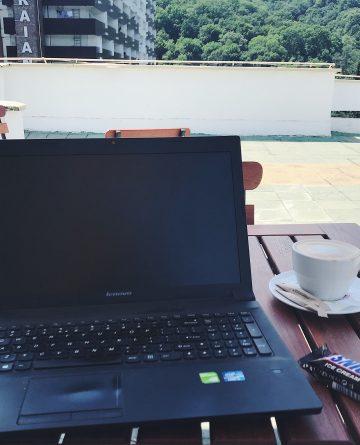 blogging si cafea